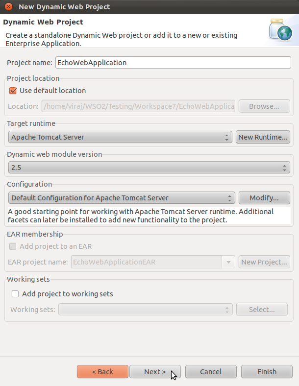 How to develop and deploy web applications using WSO2