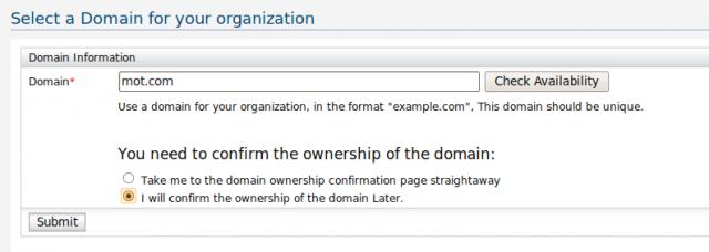 Register Organization