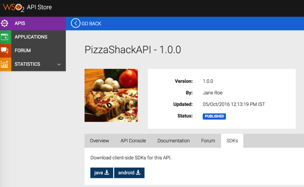 Article] Introducing SDK Support with WSO2 API Manager