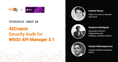 42Crunch Security Audit for WSO2 API Manager 3.1