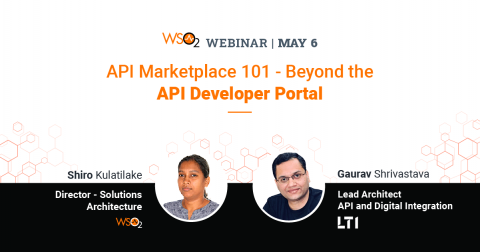 API Marketplace 101 - Beyond the API Developer Portal