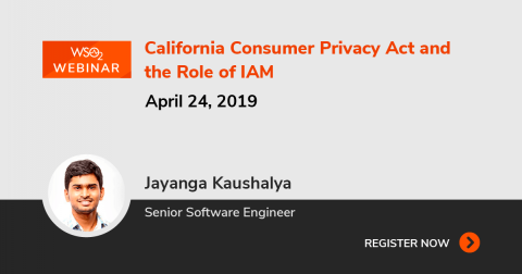 California Consumer Privacy Act and the Role of IAM