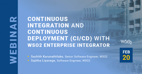 Continuous Integration and Continuous Deployment (CI/CD) with WSO2 Enterprise Integrator