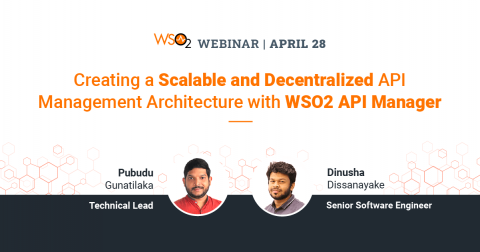 Creating a Scalable and Decentralized API Management Architecture with WSO2 API Manager