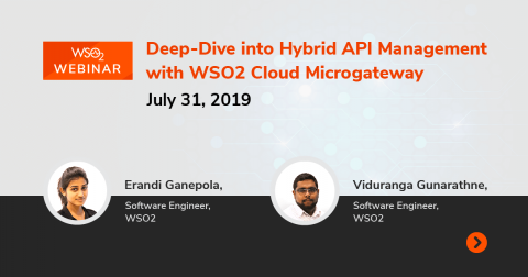 Deep-Dive into Hybrid API Management with WSO2 Cloud Microgateway