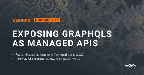 Exposing GraphQLs as Managed APIs