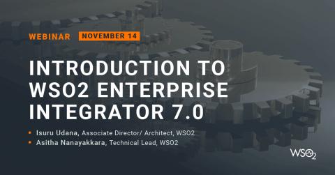Introduction to WSO2 Enterprise Integrator 7.0