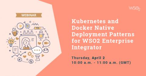 Kubernetes and Docker Native Deployment Patterns for WSO2 Enterprise Integrator