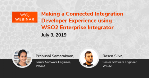 Making a Connected Integration Developer Experience using WSO2 Enterprise Integrator