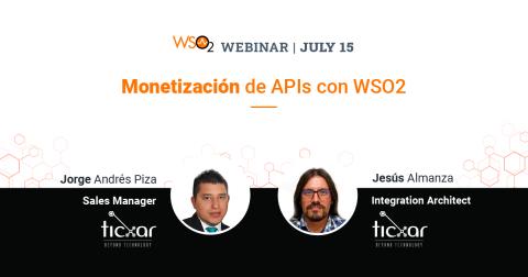 Monetización de APIs con WSO2