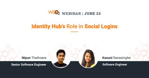 Identity Hub's Role in Social Logins