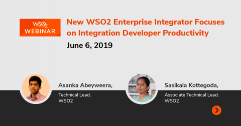 New WSO2 Enterprise Integrator Focuses on Integration Developer Productivity