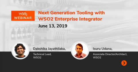 Next Generation Tooling with WSO2 Enterprise Integrator