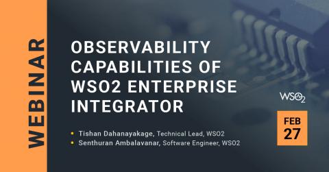 Observability Capabilities of WSO2 Enterprise Integrator