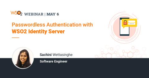 Passwordless Authentication with WSO2 Identity Server