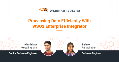 Processing Data Efficiently With WSO2 Enterprise Integrator