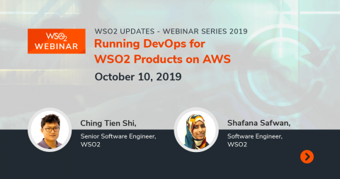 Running DevOps for WSO2 Products on AWS
