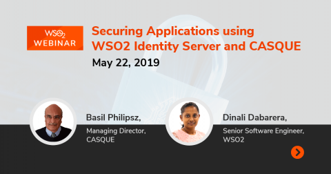 Securing Applications using WSO2 Identity Server and CASQUE