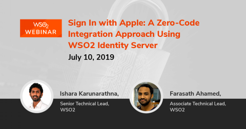 Sign In with Apple: A Zero-Code Integration Approach Using WSO2 Identity Server