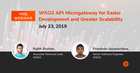 WSO2 API Microgateway for Easier Development and Greater Scalability