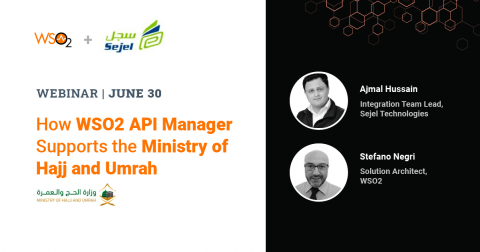 How WSO2 API Manager Supports the Ministry of Hajj and Umrah