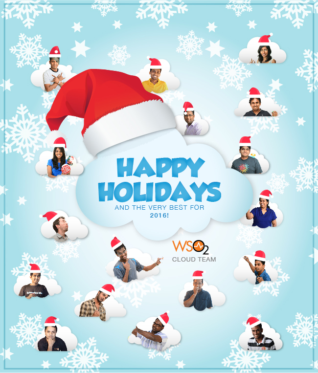 WSO2 Cloud Holiday Card 2016