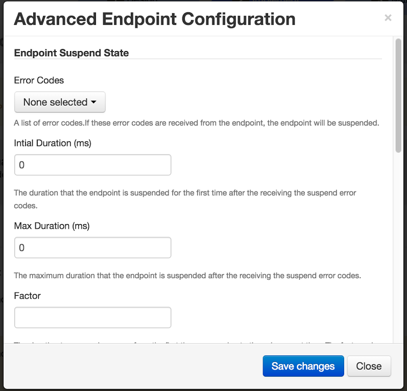 How to avoid your backend endpoint getting suspended by the